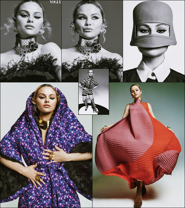 - '-● MAGAZINE- Selena Gomez fait la couverture de « Vogue Australia » pour le mois de Juillet -