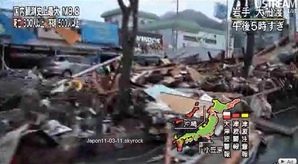 Photos de la Catastrophe :