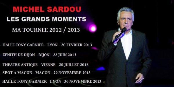 Tournée 2012 /2013