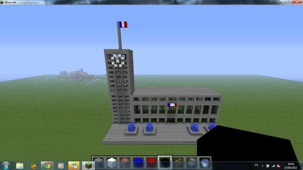 Hotel de ville du havre modifier minecraft - Video de minecraft ville ...