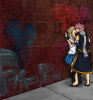 Natsu et lucy kiss
