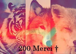 - 200 merci ♥♥