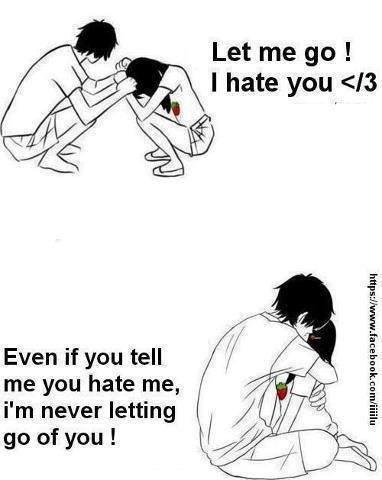 Let me go ...