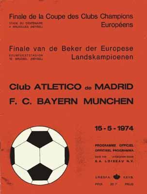 Coupe des clubs champions 1974 l gende de la ligue des champions - Resultat coupe des clubs champions ...