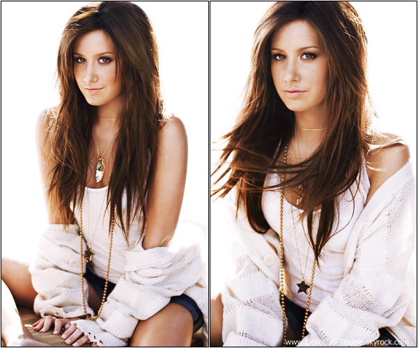 -   Photoshoot 2009 : Découvrez de nouvelles photos du photoshoot d'Ashley pour son second album Guilty Pleasure réalisé par Roberto D'Este.   -