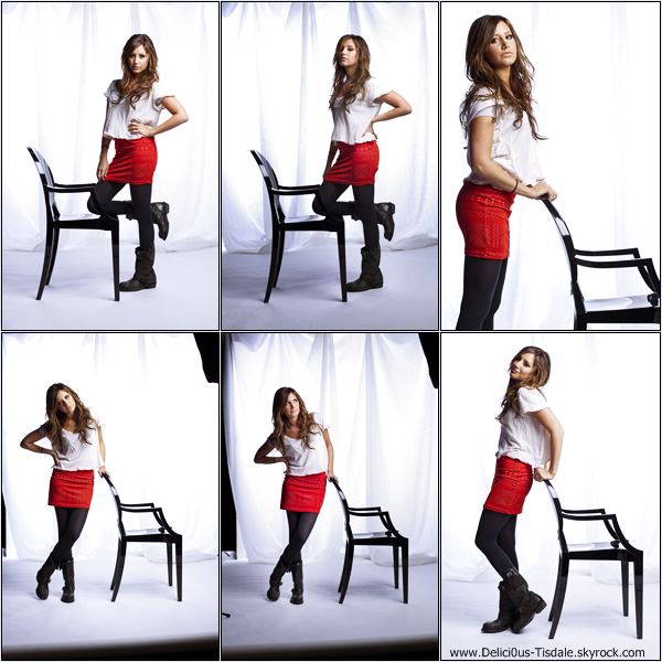 -   Photoshoot 2009 : Découvrez un photoshoot d'Ashley réalisé par Scott Gries.   -