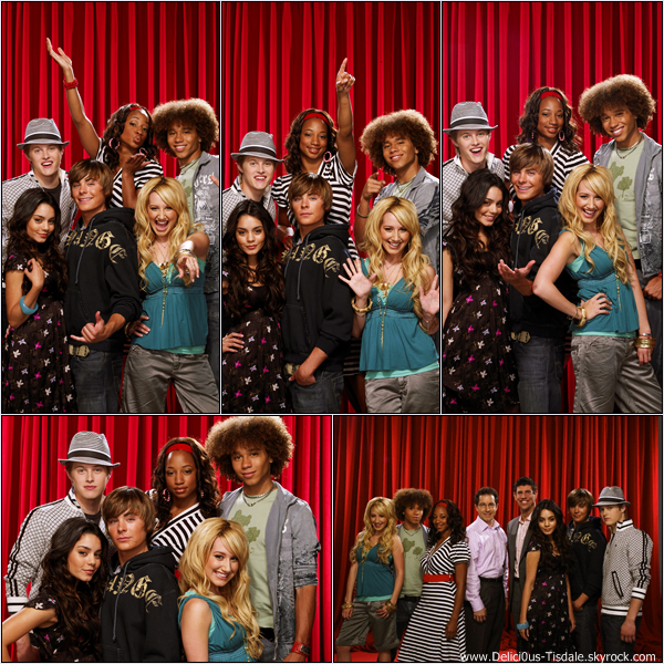-   Photoshoot 2006: Découvrez un photoshoot d'Ashley et de ses co-stars d'High School Musical réalisé par F. Scott Schafer.   -