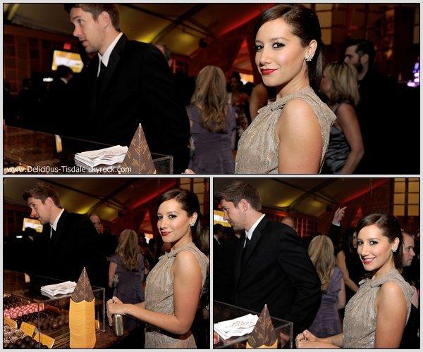 Ashley à la 19th Annual Elton John AIDS Foundation Academy Awards Viewing Party qui se déroulait au Pacific Design Center à Los Angeles ce Dimanche 27 Février.