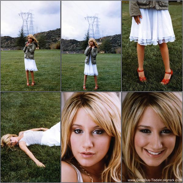 -   Photoshoot 2006: Découvrez un photoshoot d'Ashley réalisé par Andrew Southam.   -