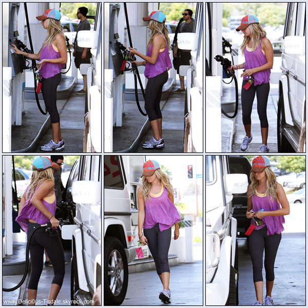 Ashley arrivant la salle de gym equinox dans west for Le elle apartments west hollywood
