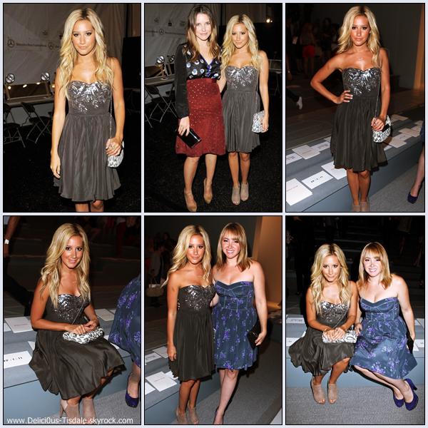 Ashley assistant au défilé Rebecca Taylor Spring 2012 au Lincoln Center à New-York ce Vendredi 09 Septembre.