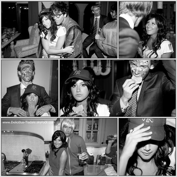Découvrez quelques photos de la soirée d'Halloween organisée chez Ashley en Octobre dernier.