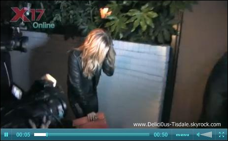 Ashley quittant la salle de gym Equinox dans West Hollywood ce Mardi 17 Janvier.