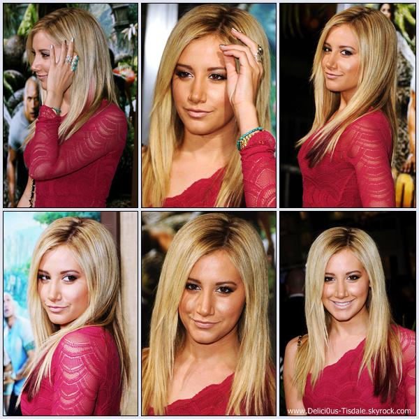Ashley à la première du film Journey 2: The Mysterious Island à Hollywood ce Jeudi 02 Février.