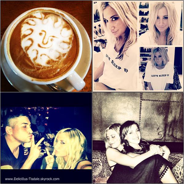 Ci-dessous, les dernières photos postées par Ashley sur Instagram.