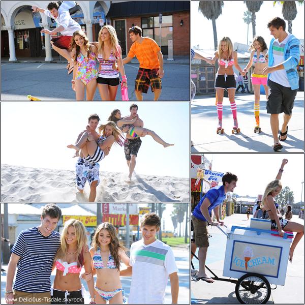 Découvrez ci-dessous les outtakes et les behind the scenes de la collection printemps/été 2012 de la marque Op Ocean Pacific 2012 pour laquelle Ashley avait réalisé un photoshoot.