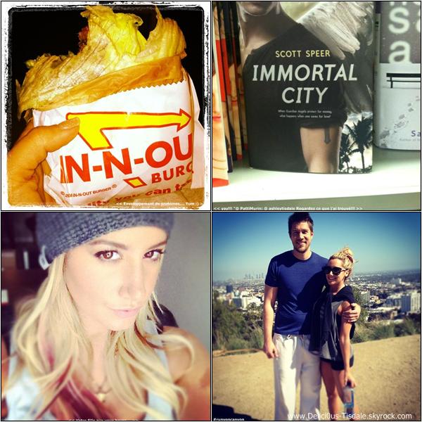Ashley faisant du shopping chez Neiman Marcus à Beverly Hills ce Lundi 16 Avril.