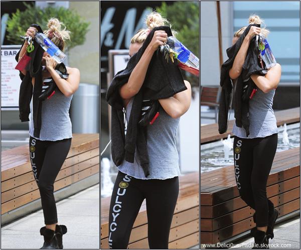 Ashley se rendant à la salle de gym Equinox dans West Hollywood ce Vendredi 04 Mai.