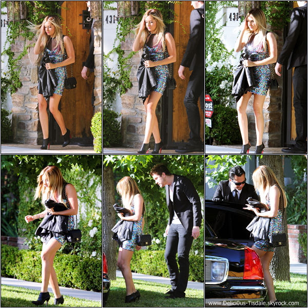 Ashley se rendant à la salle de gym Equinox dans West Hollywood ce Vendredi 08 Juin.