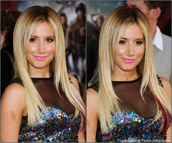 Ashley à l'avant-première du film Rock Of Ages à Los Angeles ce Vendredi 08 Juin.
