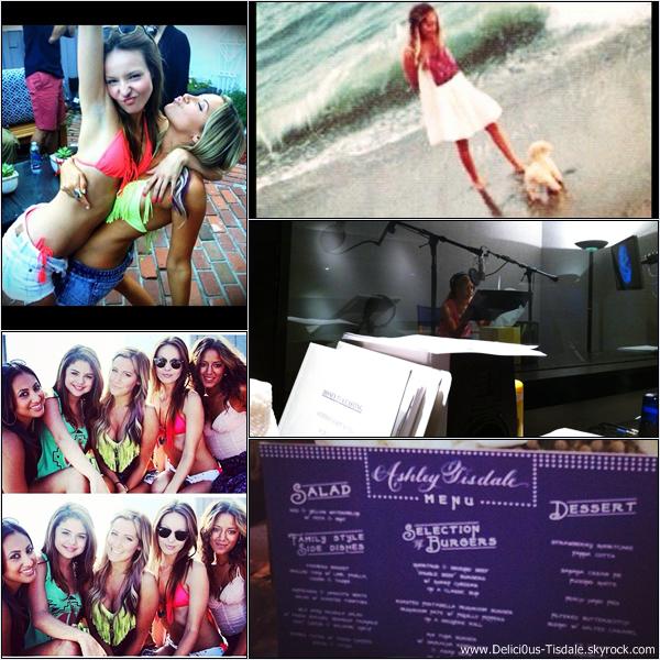 Découvrez les dernières photos postées par Ashley sur ses comptes Twitter et Instagram.