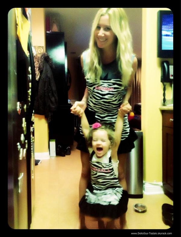 -   Instagram : Découvrez une photo postée par Ashley sur son compte Instagram avec sa nièce Mikayla.   -