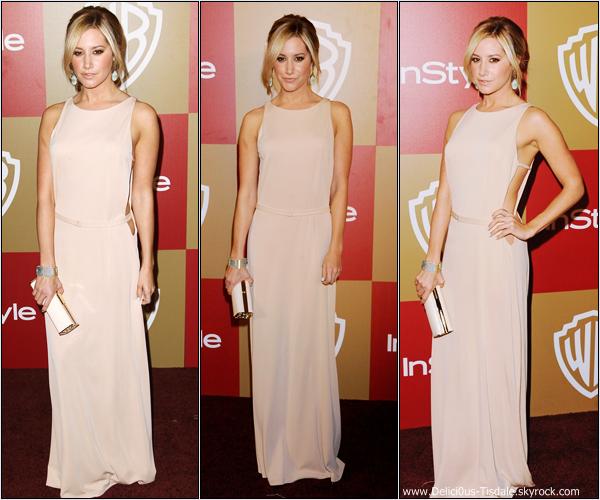 -   13/01/2013: Ashley à la InStyle and Warner Bros Golden Globe Awards After Party à Beverly Hills.   -