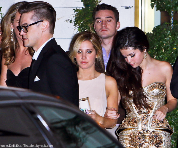 -   13/01/2013: Ashley à la The Weinstein Company's Golden Globe Awards After Party à Beverly Hills.   -