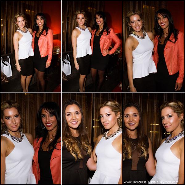 -   15/01/2013: Ashley au Genlux Magazine's Riviera 31 Opening qui se déroulait à l'hôtel Sofitel de Beverly Hills.   -