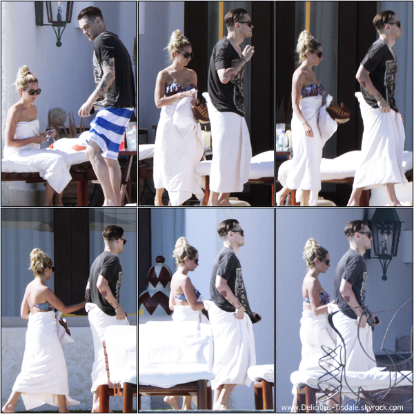 -   03/03/2013: Ashley et son petit-ami Christopher French profitant de leurs vacances à Cabo San Lucas au Mexique.   -