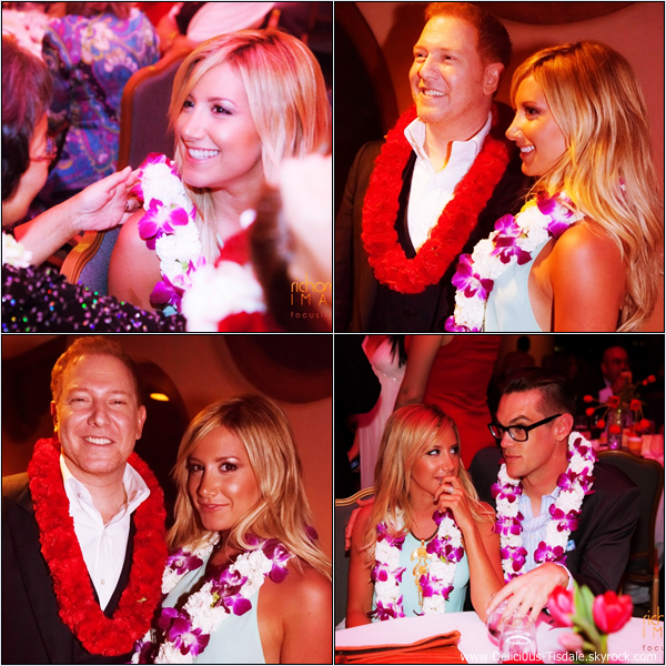 -   09/03/2013: Ashley et son petit-ami Christopher French au Mayor's Kokua Ball qui se déroulait à Maui, à Hawaii.   -