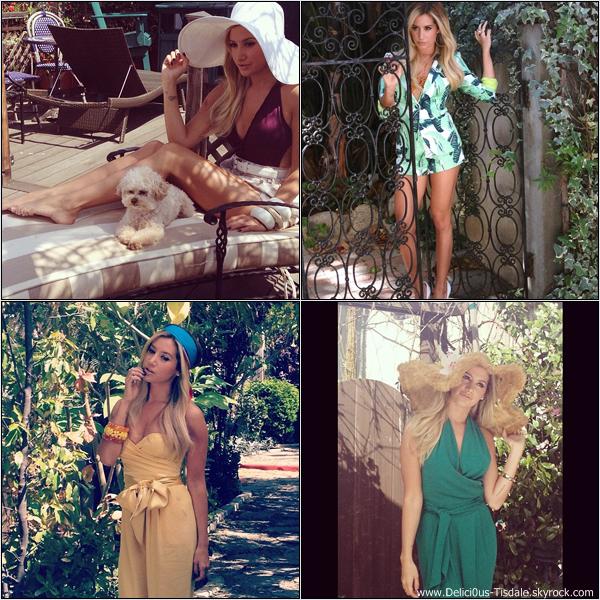 -   Photoshoot 2013: Découvrez quelques Behind the Scenes  d'un nouveau photoshoot d'Ashley réalisé par le magazine Maniac.   -