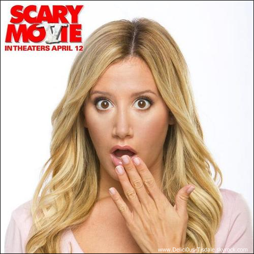 -   Scary Movie 5: Découvrez une photo promotionnelle de Scary Movie 5, le prochain film d'Ashley.   -