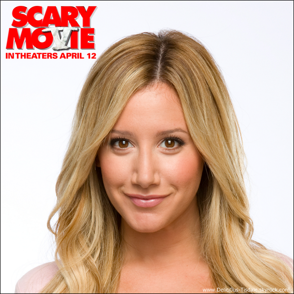 -   03/04/2013: Ashley donnant une interview pour la promotion de Scary Movie 5 sur On Air with Ryan Seacrest sur la station 102.7 KIIS FM à Los Angeles.   -