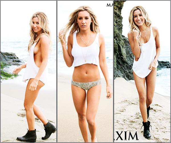 -   Maxim: Découvrez Ashley dans le magazine Maxim pour le mois de Mai 2013.   -