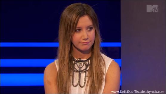 -   09/04/2013: Ashley sur le plateau de l'émission Nikki & Sara LIVE dans le cadre de la promotion de Scary Movie 5 à New-York.   -