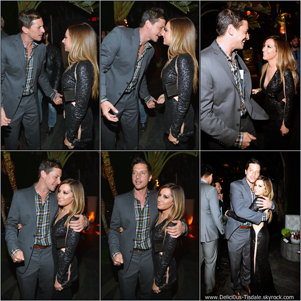 -   11/04/2013: Ashley à l'after-party de son nouveau film Scary Movie 5 à Hollywood.   -
