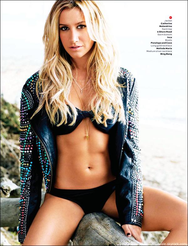 -   Maxim: Découvrez les scans d'Ashley dans le magazine Maxim pour le mois de Mai 2013.   -