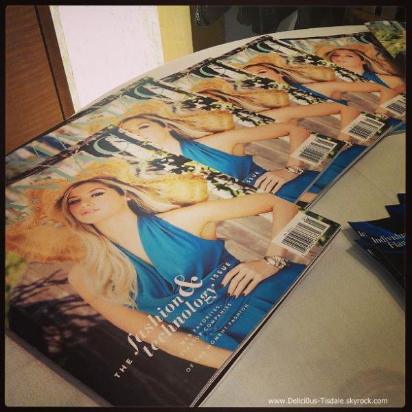 -   Maniac Magazine: Découvrez ci-dessous la couverture officielle du magazine Maniac dont Ashley fera la couverture au mois de Juin.   -
