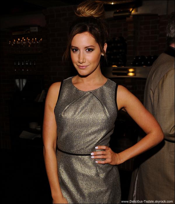 -   14/05/2013: Ashley assistant au 2013 CAA Upfronts Party à New-York.   -