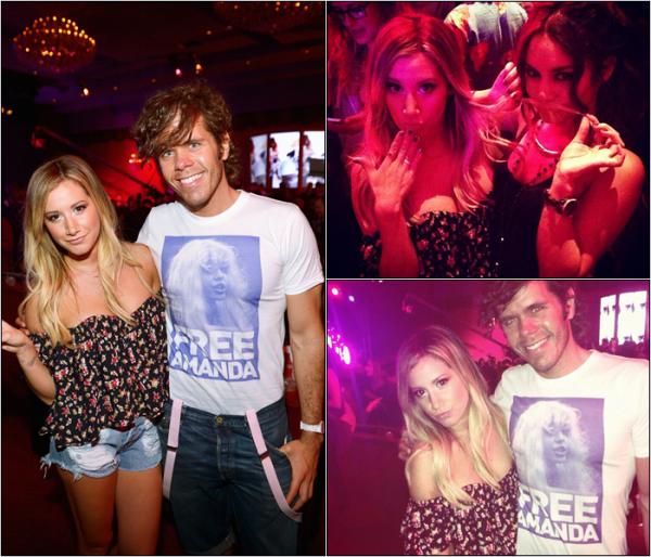 -   12/06/2013: Ashley assistant au MySpace Launch Party à Los Angeles.   -