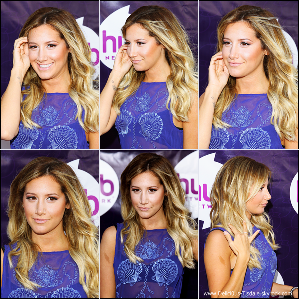 -   26/07/2013: Ashley assistant au The Hub Network's 2013 Summer TCA à Universal City.   -