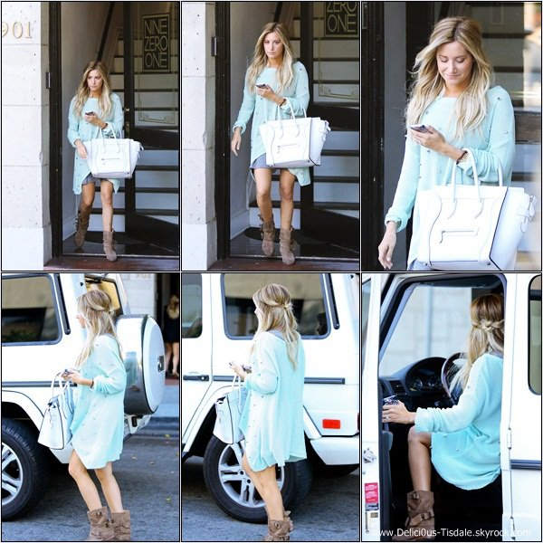 -   14/08/2013: Ashley quittant les studios 310 Casting à Los Angeles.   -