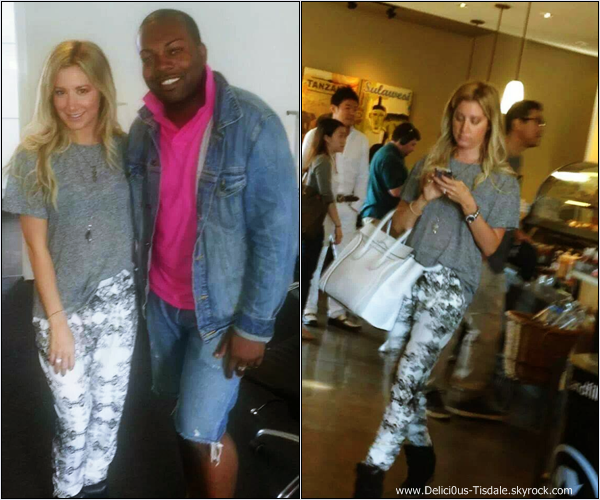 -   09/09/2013: Ashley de sortie dans Los Angeles.   -