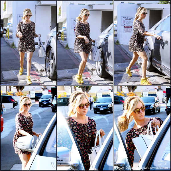 -   19/09/2013: Ashley et sa maman Lisa faisant du shopping chez Alice & Olivia à Beverly Hills.   -