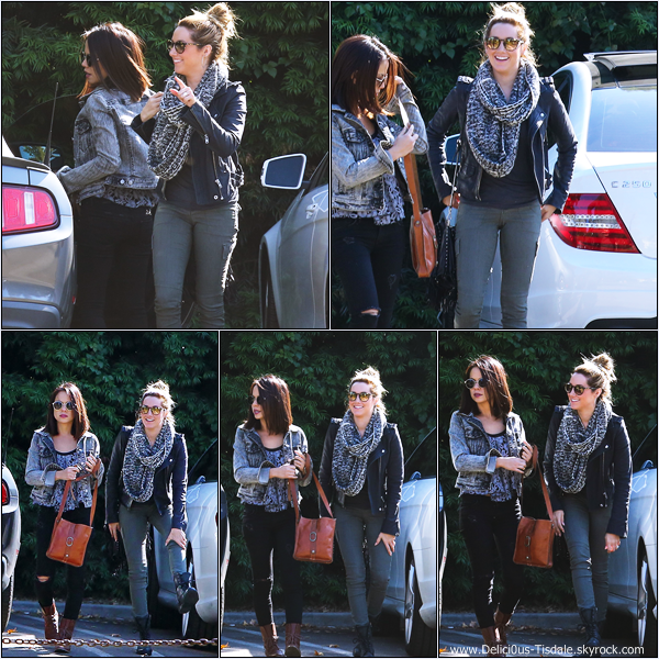 -   10/11/2013 : Ashley, son fiancé Christopher French et son amie Kim Hidalgo au camp Kesem dans West Hollywood.   -