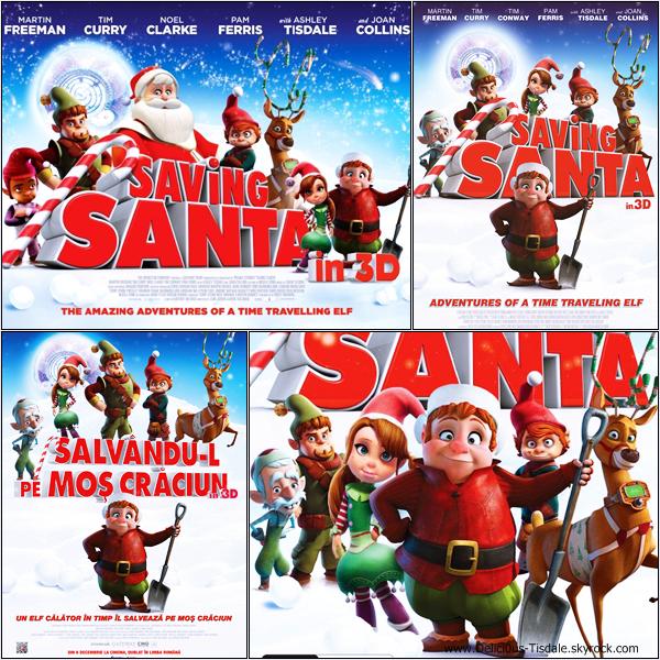 -   Saving Santa : Découvrez quelques stills et posters du prochain film d'animation d'Ashley : Saving Santa.   -