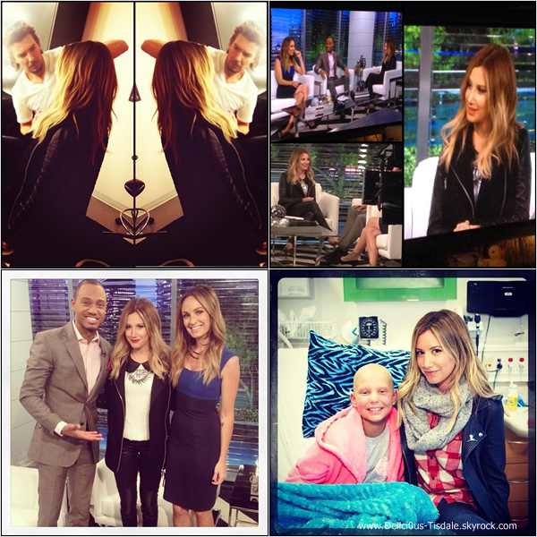 -   16/12/2013 : Ashley donnant une interview pour E! News à Los Angeles.   -