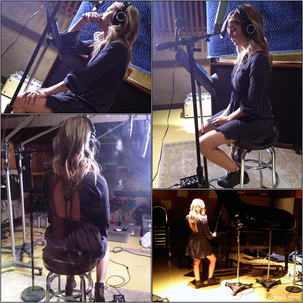 -   You're Always Here : Découvrez des photos d'Ashley en studio lors de l'enregistrement de sa dernière chanson You're Always Here.   -