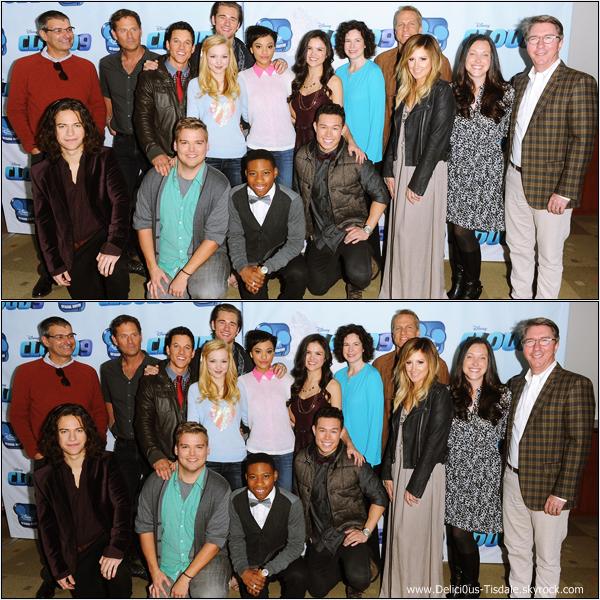-   19/12/2013 : Ashley assistant à la première du film Cloud 9 qui se déroulait à Burbank.   -